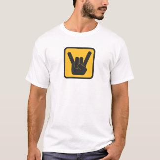 Camiseta Cuidado-Rock!