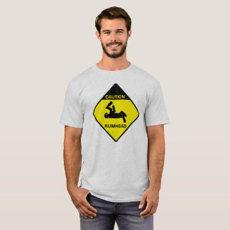 Camiseta Cuidado: T principal do rum