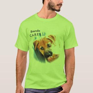 Camiseta CUIDADOS - Brenda - calipso