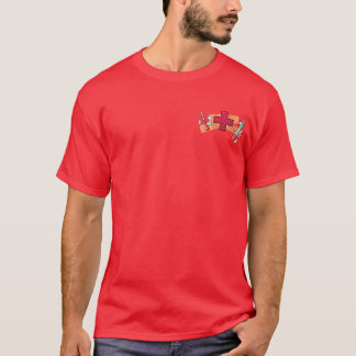 Camiseta Cuidados do sobrevivente