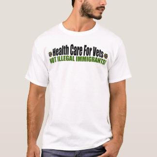 """Camiseta Cuidados médicos para veterinários! """""""