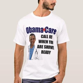 Camiseta Cuidados médicos prontos da pá