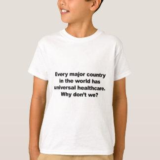 Camiseta Cuidados médicos universais