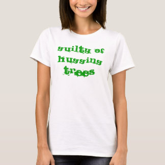 Camiseta Culpado de abraçar árvores Tanktop