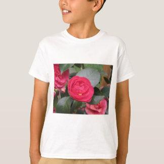 Camiseta Cultivar japonês antigo do japonica vermelho da