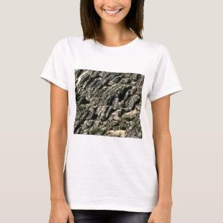 Camiseta cume áspero da rocha