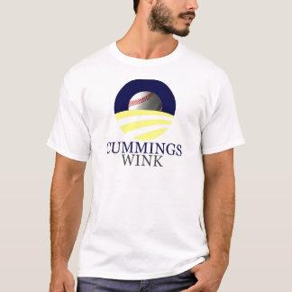 """Camiseta Cummings - piscar os olhos, """"mudança nós podemos"""