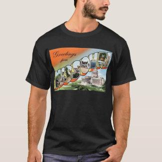 Camiseta Cumprimentos de Missouri