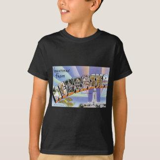 Camiseta Cumprimentos de Nebraska