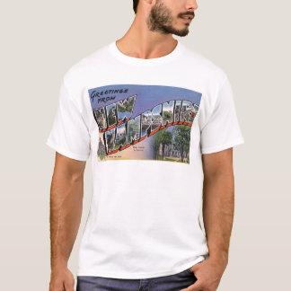 Camiseta Cumprimentos de New Hampshire