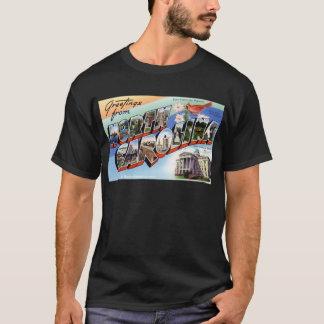 Camiseta Cumprimentos de North Carolina
