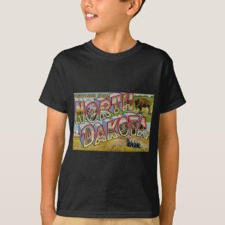 Camiseta Cumprimentos de North Dakota