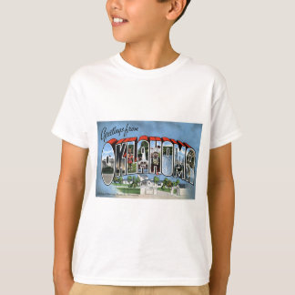 Camiseta Cumprimentos de Oklahoma
