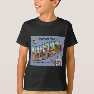 Camiseta Cumprimentos de Pensilvânia