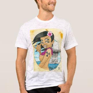 """Camiseta """"Cumprimentos do atol de biquini! """""""