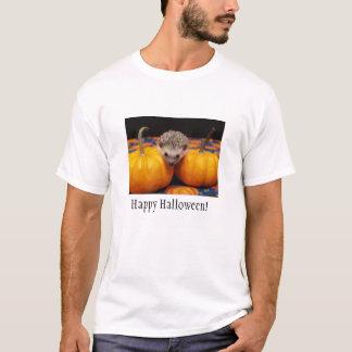 Camiseta Cumprimentos do Dia das Bruxas do ouriço