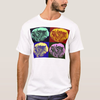 Camiseta cup - city 3 point art perspective style pop