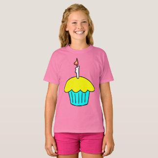 Camiseta Cupcake da celebração