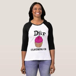 Camiseta Cupcake do Co Houston da roupa de DBr