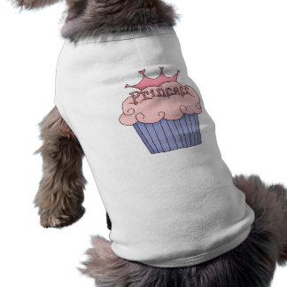 Camiseta Cupcake para uma princesa