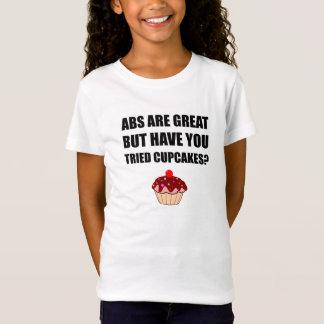 Camiseta Cupcakes experimentados do excelente do ABS