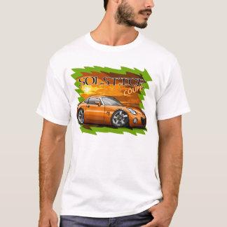 Camiseta Cupé alaranjado do solstício