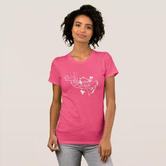 Camiseta Cupido com o t-shirt das meninas do arco por Julie