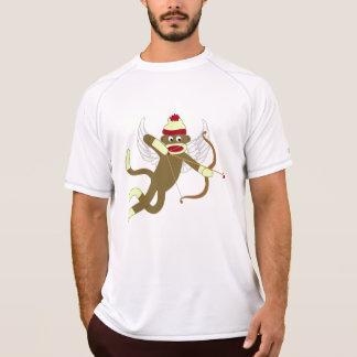 Camiseta Cupido do macaco da peúga