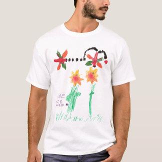 Camiseta Cura para a caminhada 2006 de Claire JDRF - MED