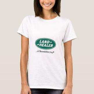 Camiseta Curandeiro da terra: Paródia de Land Rover