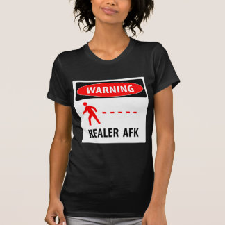 Camiseta Curandeiro de advertência AFK