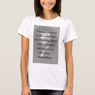 Camiseta Curiosidade - Daniel Boone