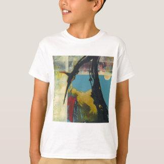 Camiseta Curiosidade o dragão abstrato