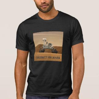 Camiseta Curiosidade Rover em Marte