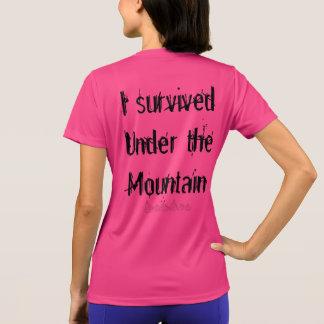 Camiseta #Cursebreaker/I sobrevivido sob a montanha ACOTAR