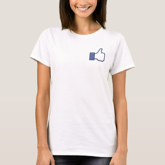 Camiseta curtir Facebook