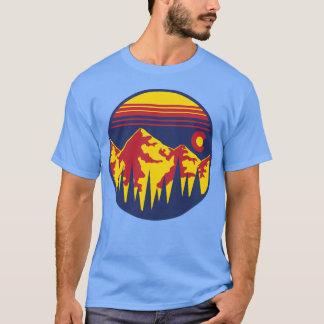 Camiseta Curto-Luva dos céus de Colorado
