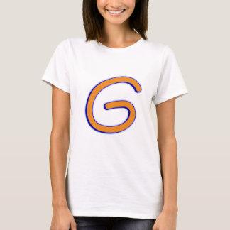 Camiseta Curva de G da letra