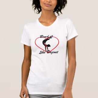 Camiseta Curvatura gosta de Bazinet