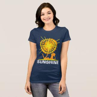 Camiseta Customizável engraçado da luz do sol da praia