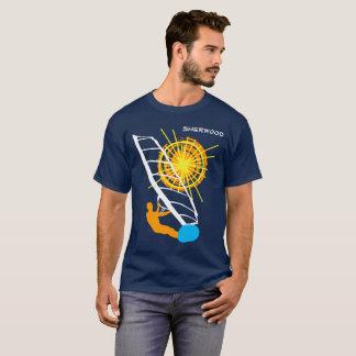 Camiseta Customizável engraçado do Windsurfer chique
