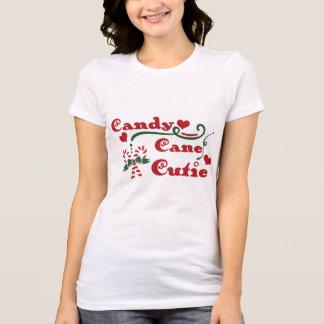 Camiseta cutie do bastão de doces