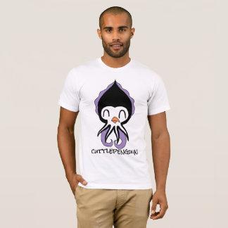 """Camiseta """"CUTTLEPENGUIN"""" (pinguim+o Tshirt dos homens dos"""