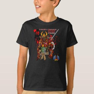 Camiseta Cyborg do samurai de Presa Canario