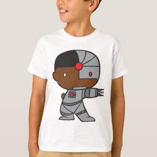 Camiseta Cyborg frente e verso de Chibi