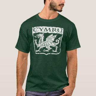 Camiseta Cymru - Wales - vintage