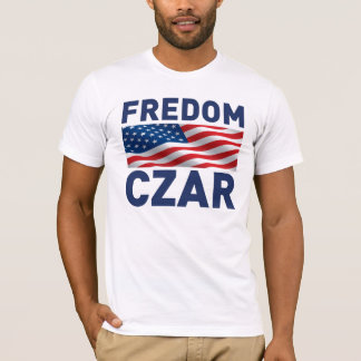 "Camiseta Czar ""Anti-Obama"" de Fredom (sátira)"