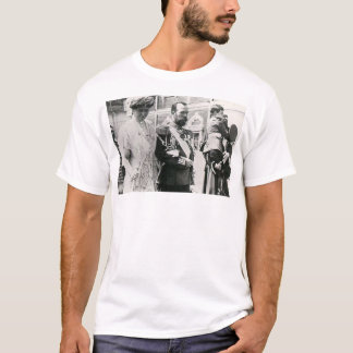 Camiseta Czar Nicholas II e Czarina Alexandra