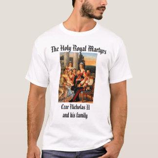 Camiseta Czar Nicholas II e família