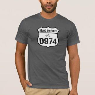 Camiseta D974 Mont Ventoux